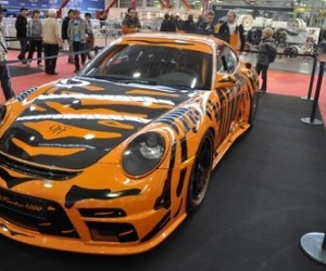 A Porsche GTurbo 1200 has gone on sale which started its life as a GT3RS and has been...