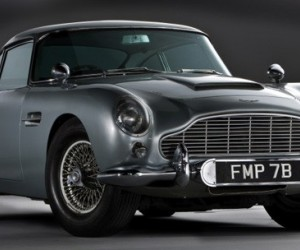 At yesterday's Automobiles  of London auction, the one-of-a-kind DB5 – fully street...