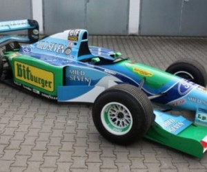 This is the original Formula 1 Benetton-Ford F1 B194-8 driven by the F1 legend when h...